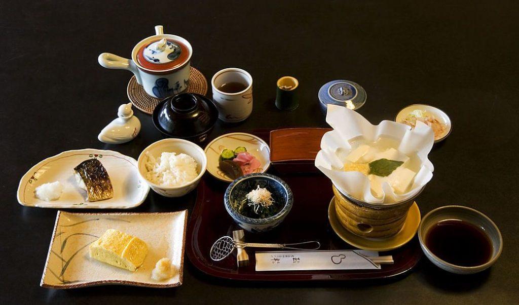 Platillos típicos de la dieta tradicional japonesa