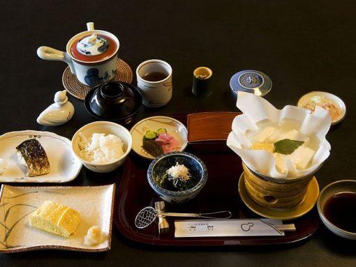 platos de la cocina tradicional japonesa o washoku