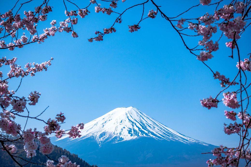 El Monte Fuji, símbolo nacional de Japón
