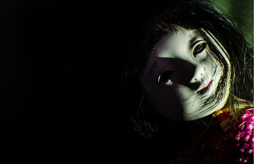 fantasma de una niña pequeña
