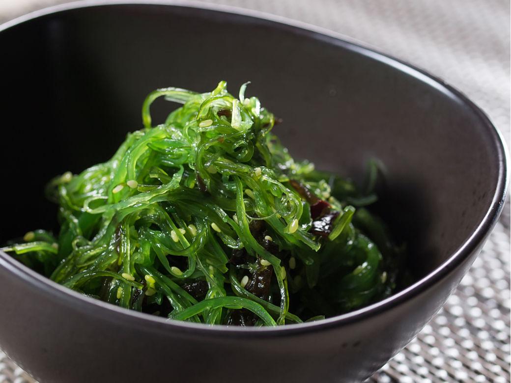 recetas fáciles japonesas, ensalada de wakame