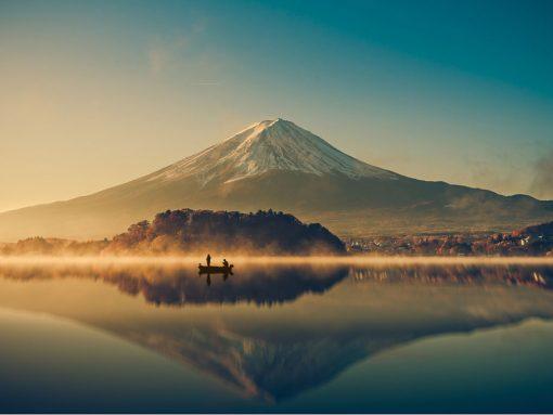 El peregrinaje del sankin kôtai pasaba por la ladera del Fuji san