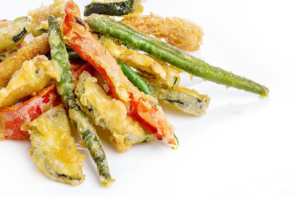 rectas japonesas fáciles, la tempura