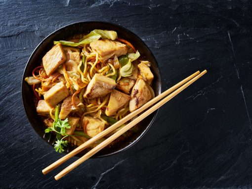 recetas fáciles japonesas yakisoba