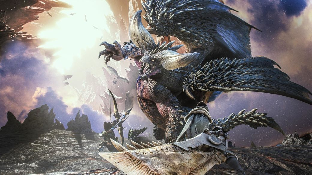 combates en Monster Hunter World