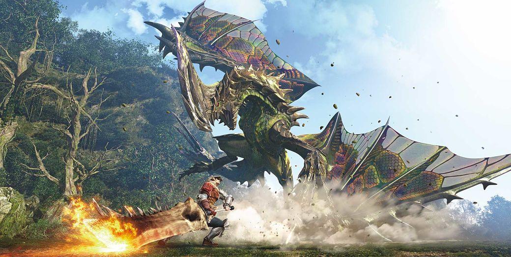 dragones en Monster Hunter World