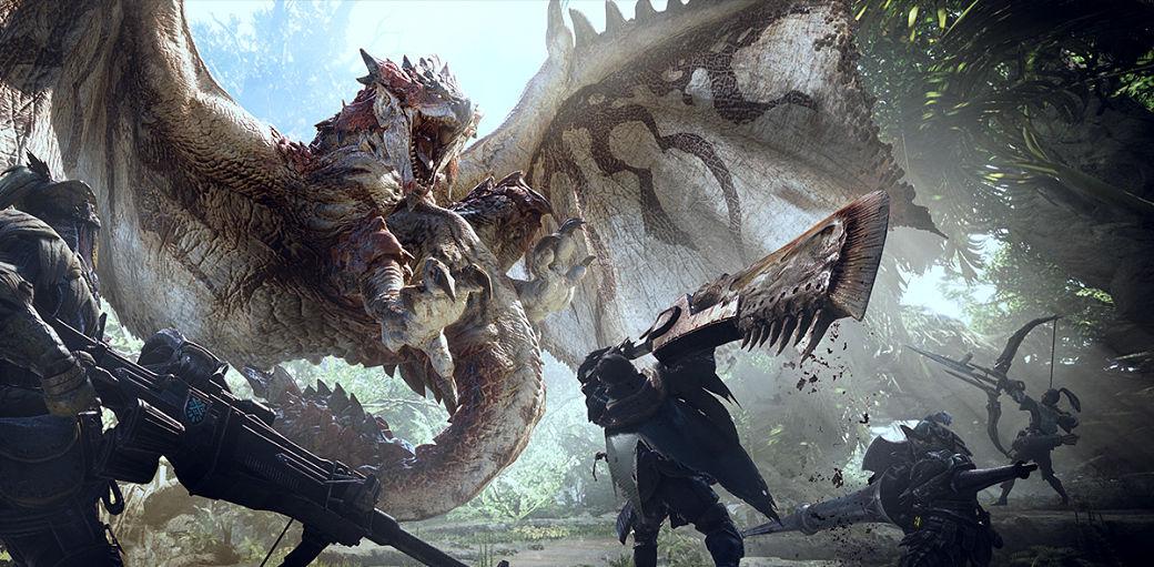 Rathalos en Monster Hunter World