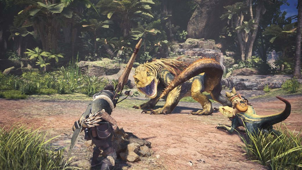 escenarios de Monster Hunter World