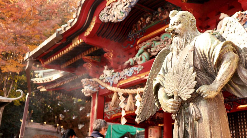 seres mitológicos japoneses: el tengu