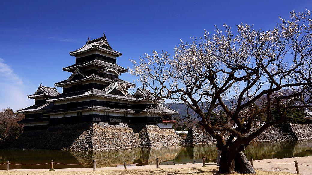 Castillo de Matsumoto residencia del emperador japonés