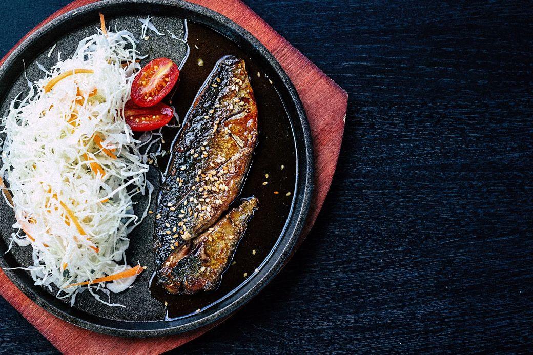 Comer en Japón pescado