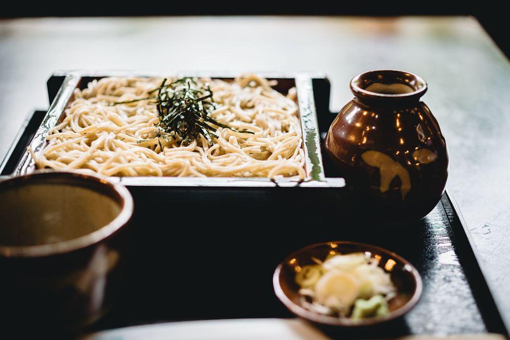Comer en Japón soba