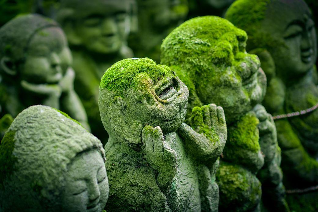 Estatuas de Jizô, Japón