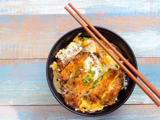 Katsudon, receta japonesa