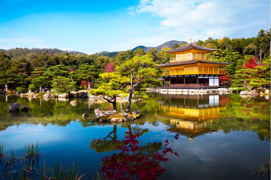 Templo Kinkaku-ji en Kyoto