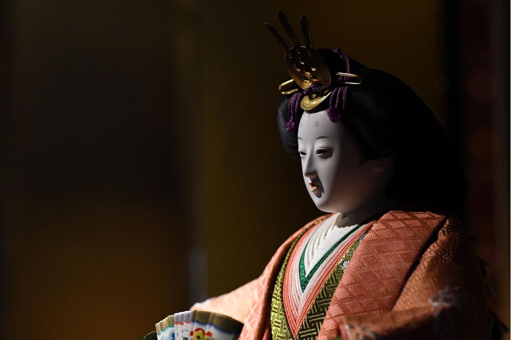 Marioneta en el teatro bunraku