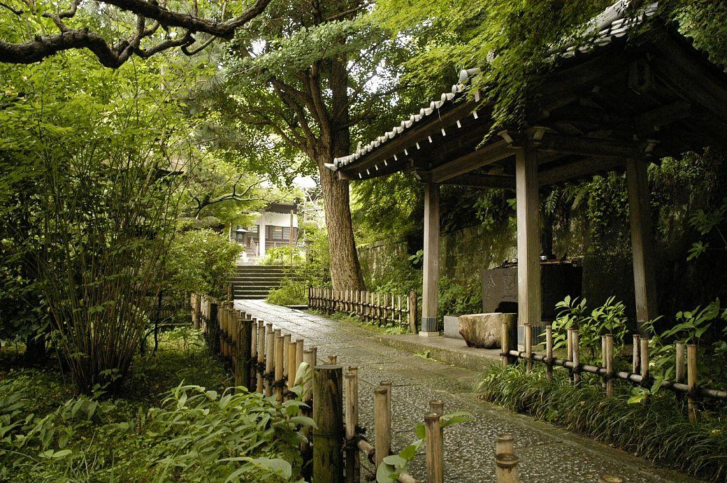 templo de kamakura ciudad de Nichiren