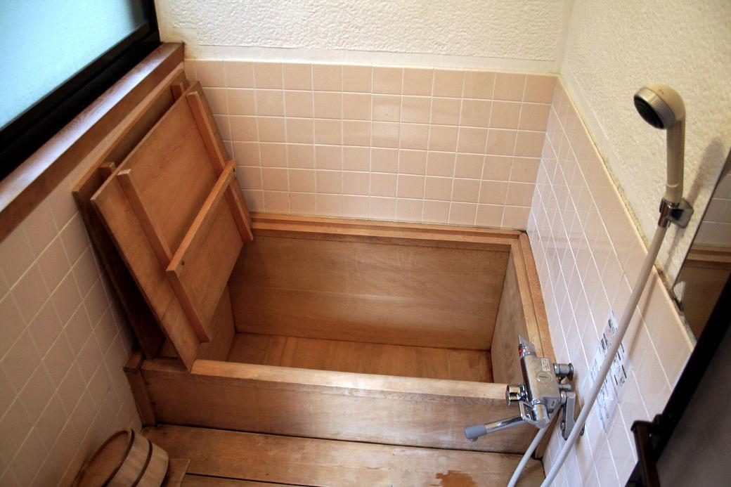 Baño tradicional japonés u ofuro