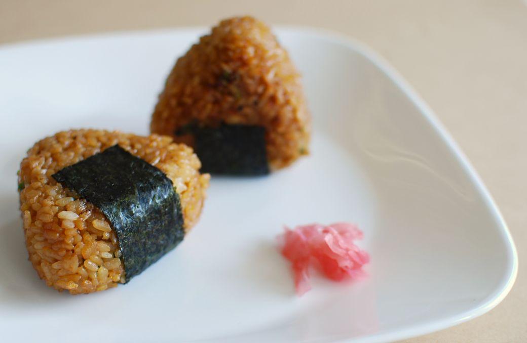 Recetas japonesas con arroz, el Onigiri
