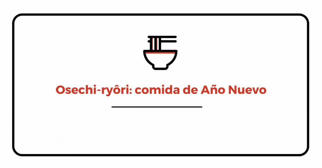 osechi-ryôri o comida japonesa de Año Nuevo