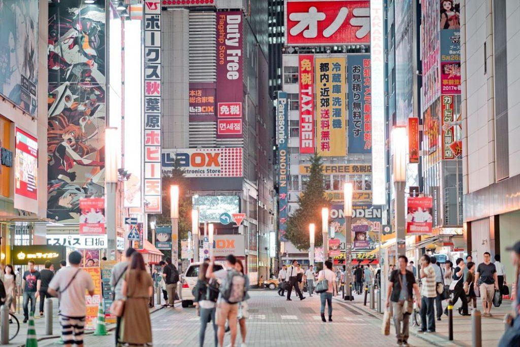 Qué visitar en Tokio por primera vez, barrio de Akihabara