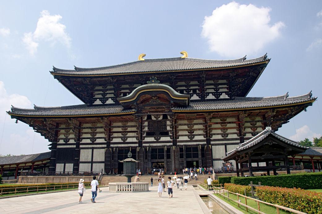 Qué visitar en Nara por primera vez, templo Todaiji