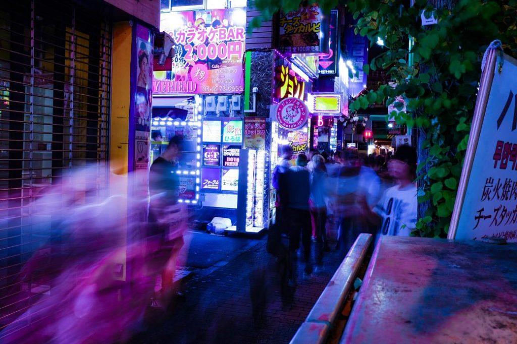 Locales de ocio nocturno en Tokio
