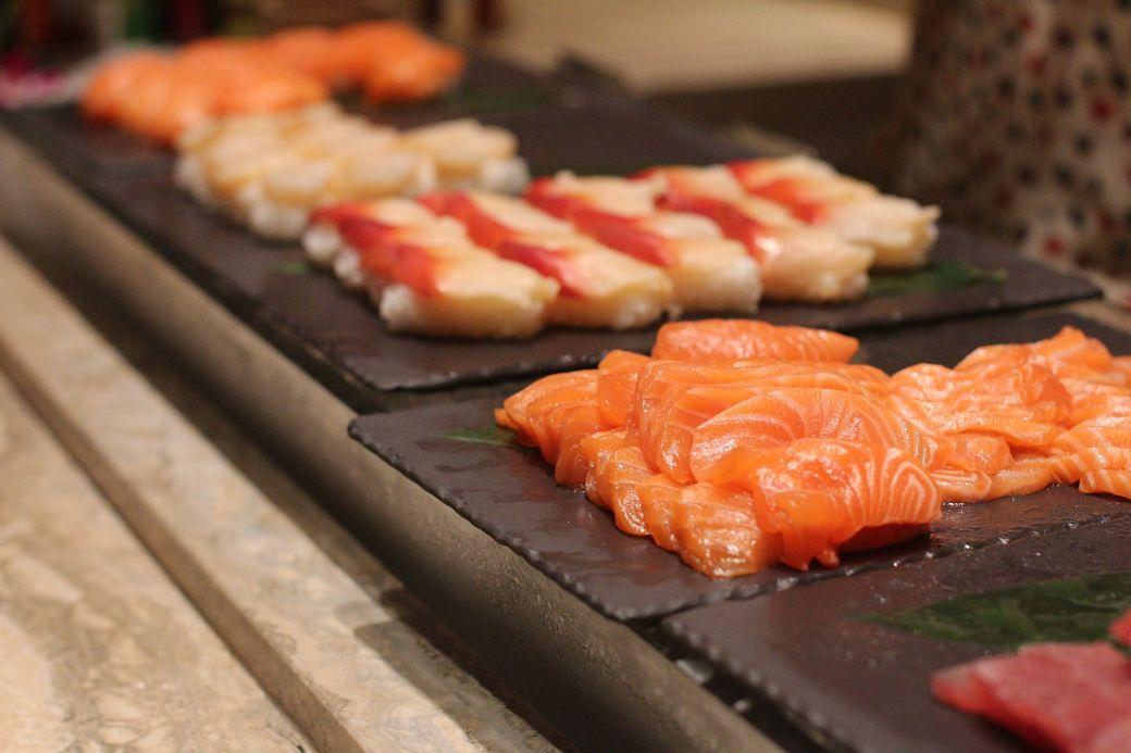 El sashimi japonés