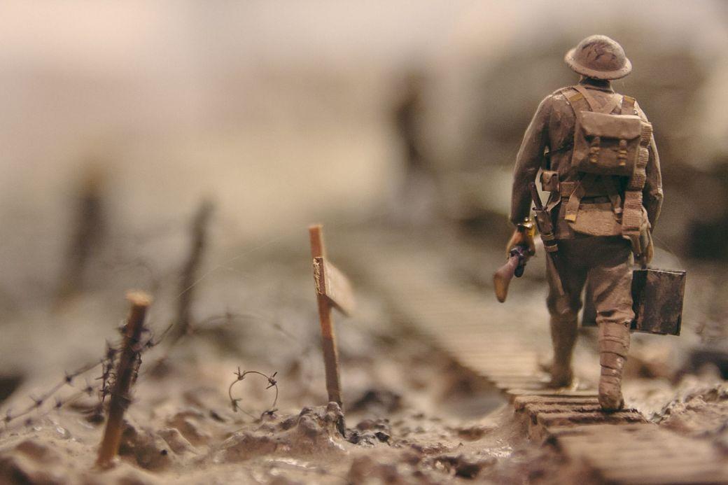 Soldado Segunda Guerra Mundiall