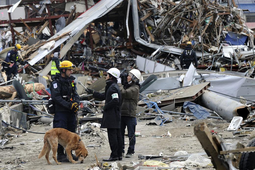 Terremotos en Japón, Ayuda humanitaria en la región de Fukushima