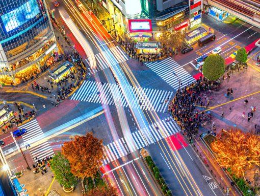 Cruce de Shibuya, Tokio, Japón