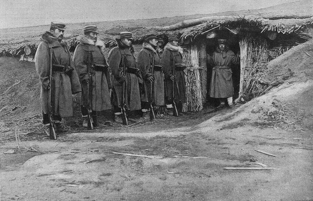 Fuerzas japonesas durante la guerra contra Rusia