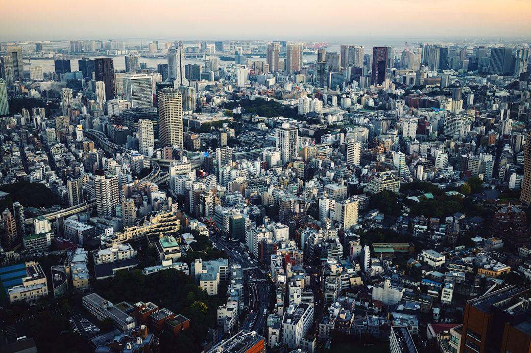 paisaje de Tokio