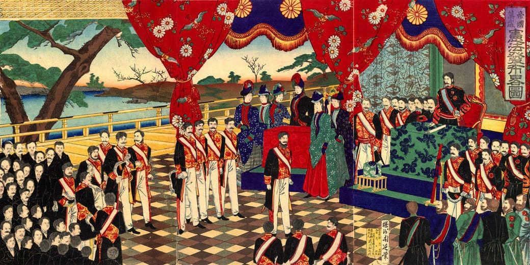 Gobierno Meiji impulsor del expansionismo japonés