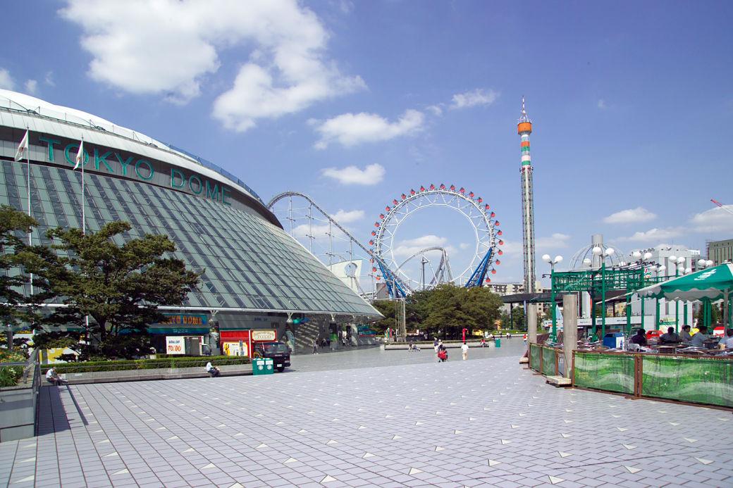 Recinto Tokyo Dome City, parque de atracciones en Tokio
