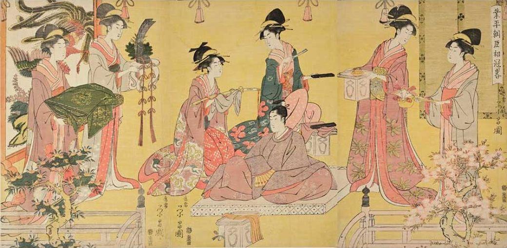 Sumisión de la mujer en el matrimonio durante el periodo Edo
