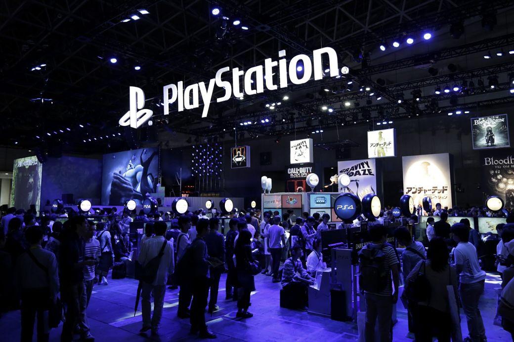 Stand Sony en el Tokyo Game Show
