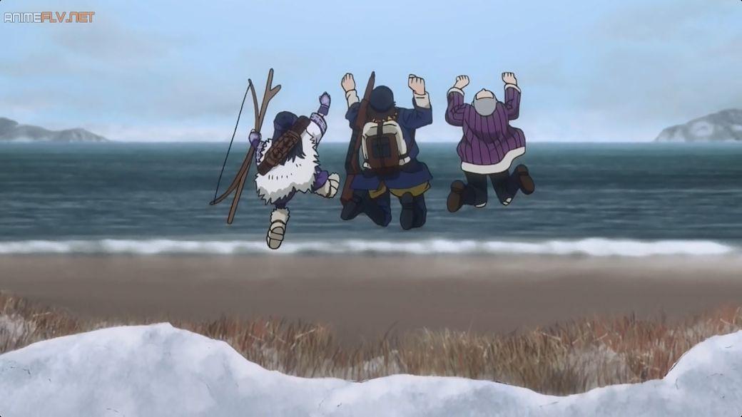 Anime Golden Kamuy con la presencia del pueblo ainu