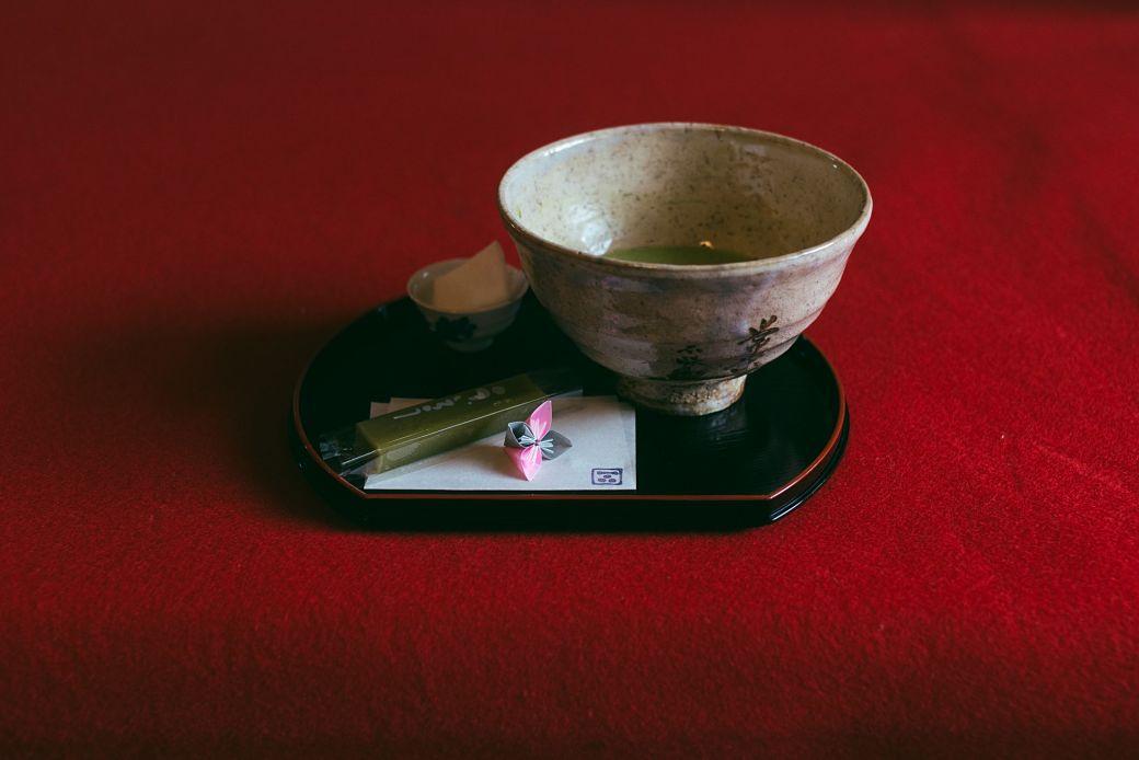 Utensilios de la ceremonia del té