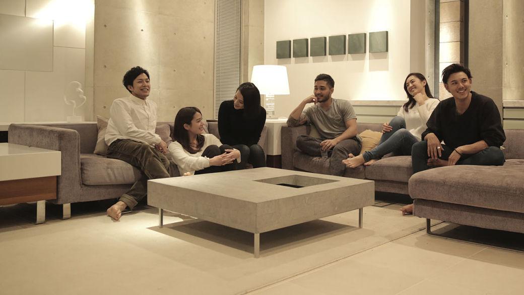 El programa Terrace House presenta la convivencia de seis chicos japoneses desconocidos