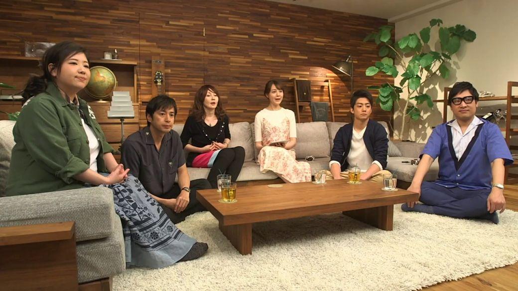 Presentadores del programa Terrace House
