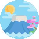 Icono Monte Fuji imagen suscripción Newsletter Periodista en japón
