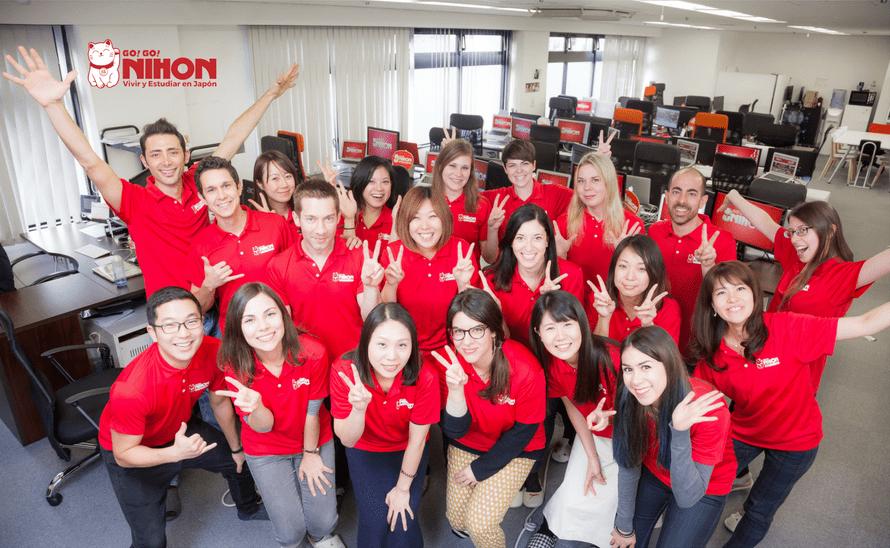 Fotografía staff Go! Go! Nihon