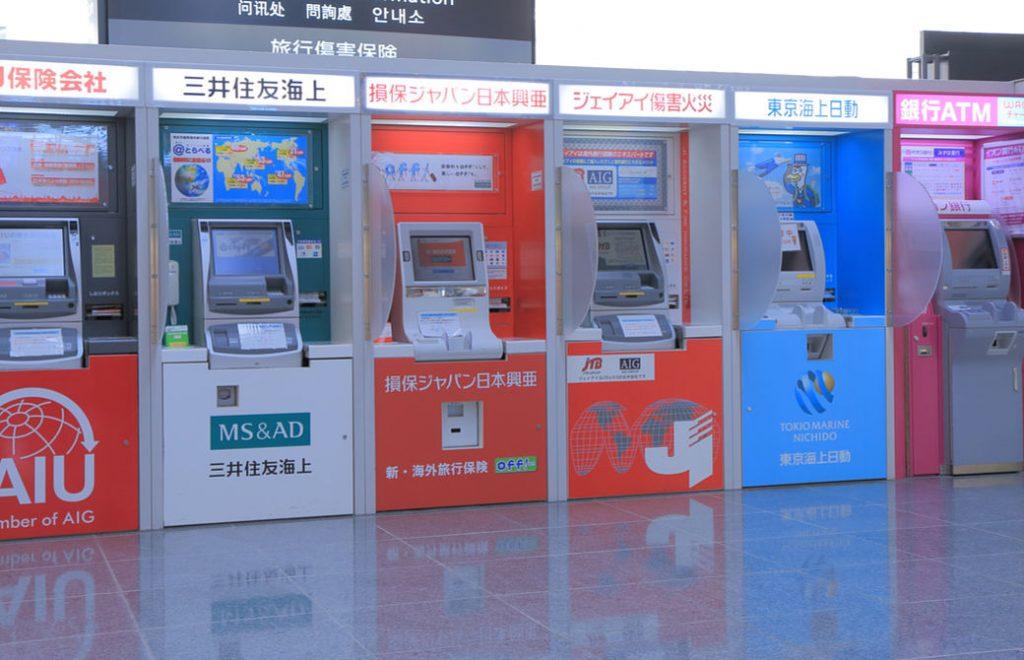 Cajeros automáticos en Japón