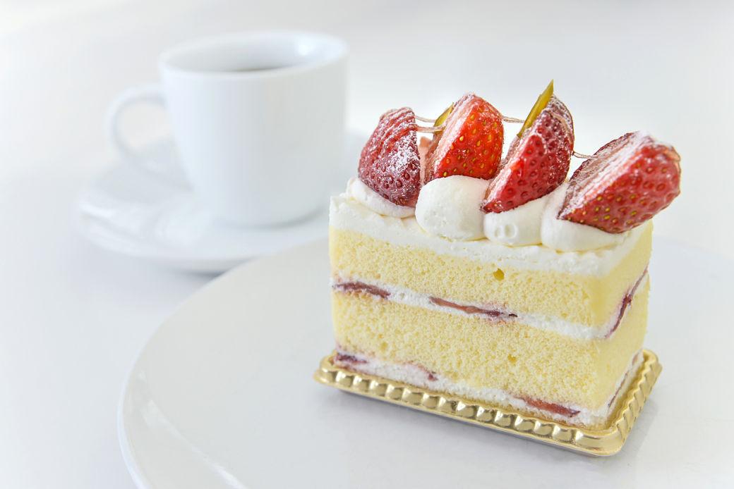 Christmas cake japonés