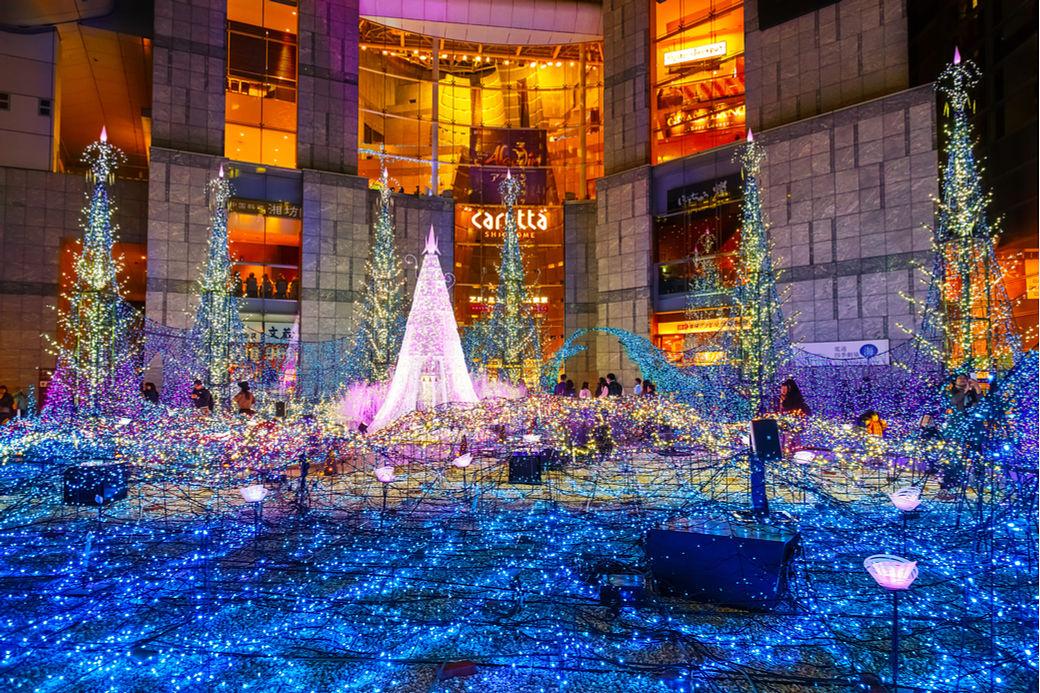 Iluminación de Navidad y Fin de año en Japón