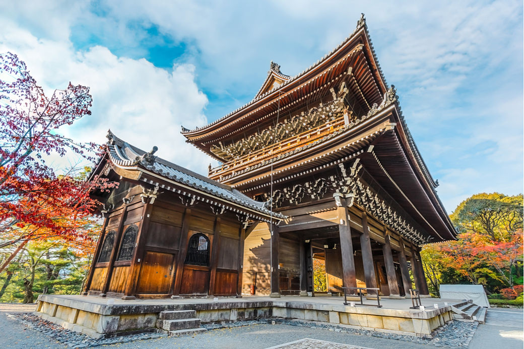 Templo Chionin en Kioto