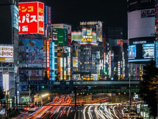 El coche como transporte en Japón