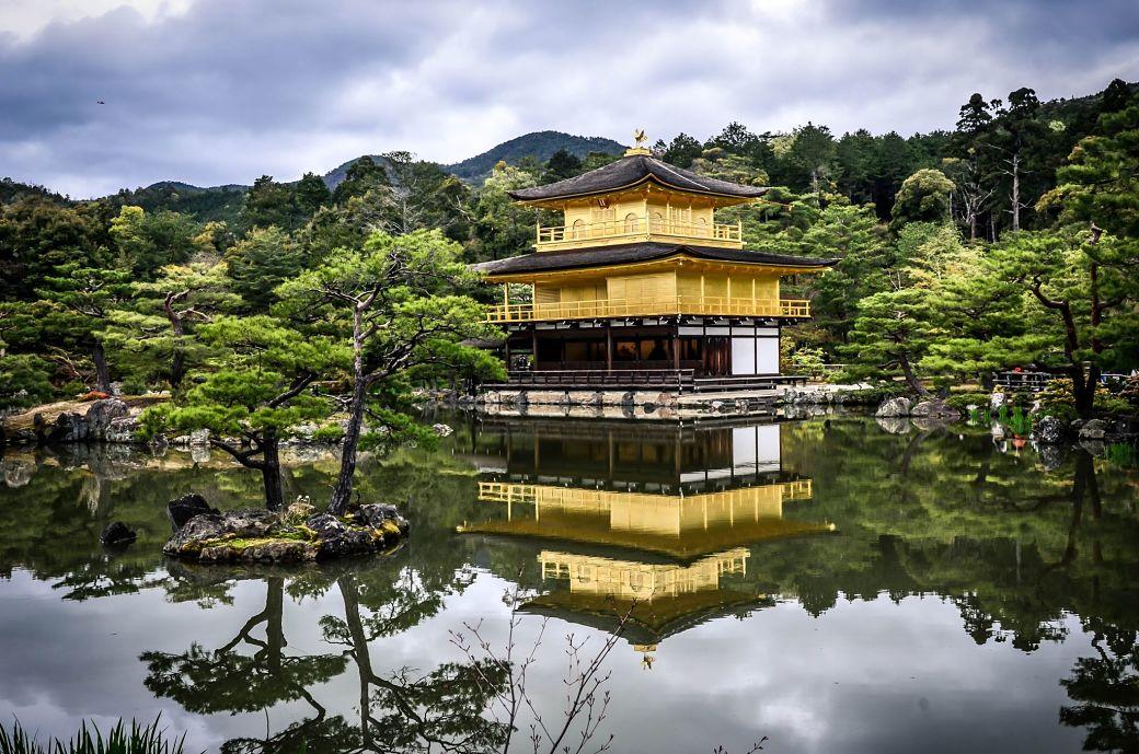 Templo dorado o Kinkakuji