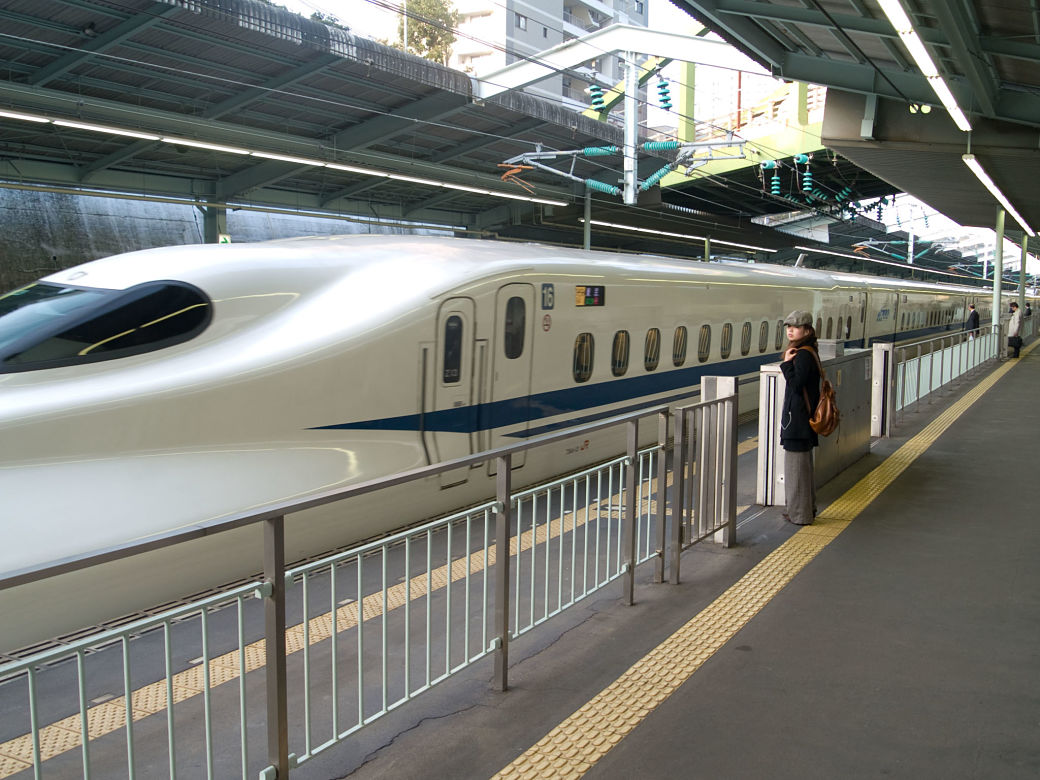 Modelo de Shinkansen Nozomi
